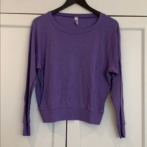 American Apparel crew neck sweatshirt